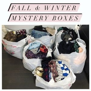Reseller Mystery Boxes for Fall & Winter All Sizes